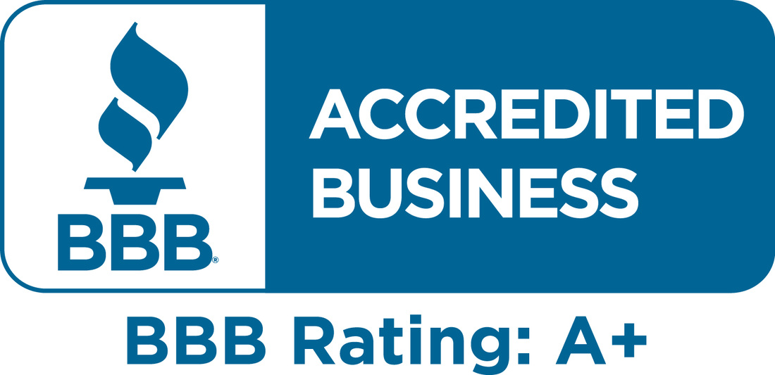 The Better Business Bureau's A+ company rating
