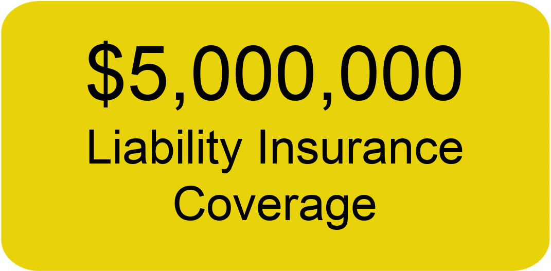 City Painters group has five million dollars in liability insurance coverage